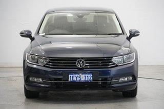 2016 Volkswagen Passat 3C (B8) MY16 132TSI DSG Comfortline Night Blue 7 Speed.