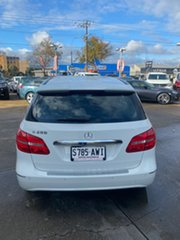 2013 Mercedes-Benz B200 246 MY13 BE White 7 Speed Auto Direct Shift Hatchback