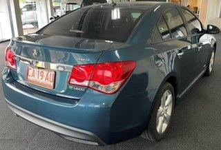 2011 Holden Cruze JH Series II MY12 SRi-V Blue 6 Speed Sports Automatic Sedan.