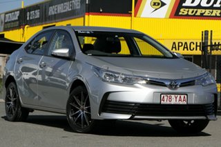 2018 Toyota Corolla ZRE172R Ascent S-CVT Silver Pearl 7 Speed Constant Variable Sedan.