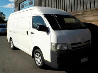 2007 Toyota HiAce KDH221R Super LWB White 4 Speed Automatic Van.