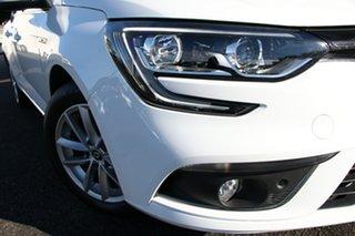 2018 Renault Megane KFB Zen EDC White 7 Speed Sports Automatic Dual Clutch Wagon.