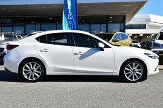 2016 Mazda 3 BM5238 SP25 SKYACTIV-Drive GT White 6 Speed Sports Automatic Sedan