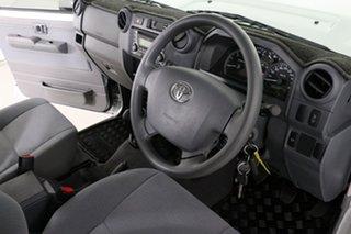 2020 Toyota Landcruiser VDJ76R GXL (4x4) Silver 5 Speed Manual Wagon