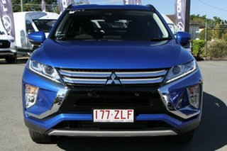 2018 Mitsubishi Eclipse Cross YA MY19 LS 2WD Lightning Blue 8 Speed Constant Variable Wagon