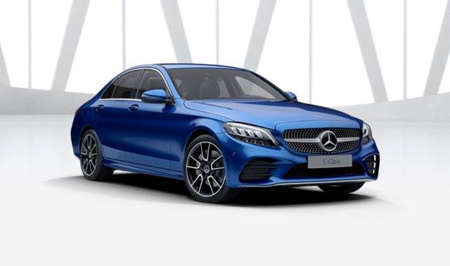 Demonstrator Mercedes-Benz C-Class W205 801MY C300 9G-Tronic Mulgrave, 2021 Mercedes-Benz C-Class W205 801MY C300 9G-Tronic Brilliant Blue 9 Speed Sports Automatic Sedan