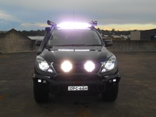 2017 Mazda BT-50 UR0YG1 XT Freestyle Black 6 Speed Sports Automatic Cab Chassis