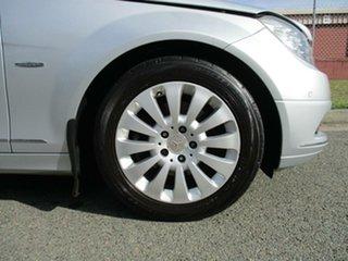 2008 Mercedes-Benz C-Class W204 C200 Kompressor Elegance Silver 5 Speed Sports Automatic Sedan