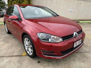 2015 Volkswagen Golf VII MY15 103TSI DSG Highline Red 7 Speed Sports Automatic Dual Clutch Hatchback.