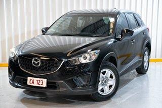 2013 Mazda CX-5 KE1031 MY13 Maxx SKYACTIV-Drive AWD Black 6 Speed Sports Automatic Wagon.