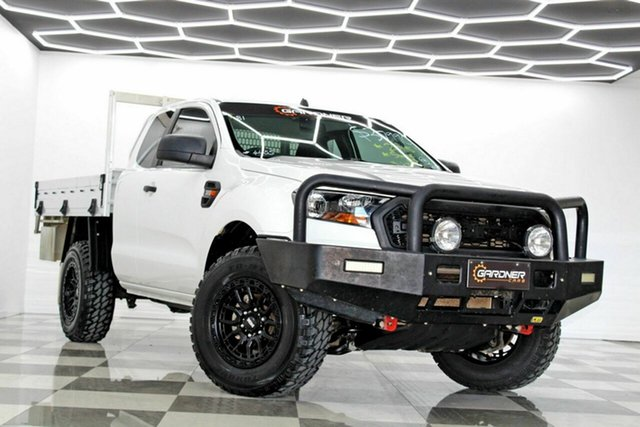 Used Ford Ranger PX MkII XL 3.2 (4x4) Burleigh Heads, 2015 Ford Ranger PX MkII XL 3.2 (4x4) White 6 Speed Manual Super Cab Chassis