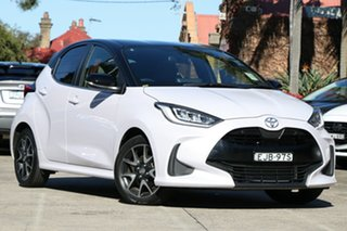 2020 Toyota Yaris Mxpa10R ZR Cherry Blossom - Black Roof 10 Speed Constant Variable Hatchback.