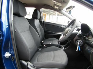 2015 Hyundai Accent RB3 MY16 Active Blue 6 Speed Manual Hatchback