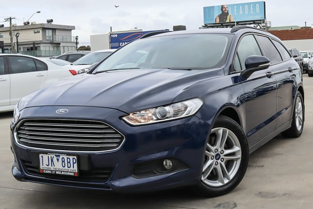 Used Ford Mondeo MD 2017.00MY Ambiente Coburg North, 2017 Ford Mondeo MD 2017.00MY Ambiente Blue 6 Speed Sports Automatic Dual Clutch Wagon