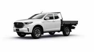 2021 Mazda BT-50 B30B XT (4x2) Ice White 6 Speed Automatic Freestyle Cab Chassis