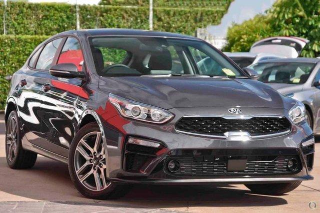 New Kia Cerato BD MY21 Sport+ Reynella, 2021 Kia Cerato BD MY21 Sport+ Grey 6 Speed Sports Automatic Hatchback