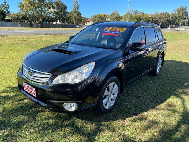 Used Subaru Outback B5A MY10 2.0D AWD Premium Clontarf, 2009 Subaru Outback B5A MY10 2.0D AWD Premium Black 6 Speed Manual Wagon