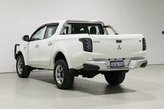 2016 Mitsubishi Triton MQ MY16 GLX (4x4) White 5 Speed Automatic Dual Cab Utility