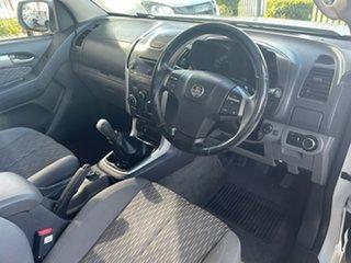 2013 Holden Colorado RG LT (4x4) White 5 Speed Manual Crew Cab Pickup