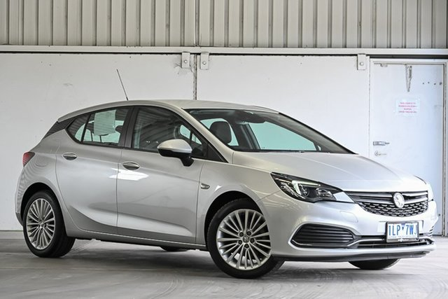 Used Holden Astra BK MY17 R+ Laverton North, 2017 Holden Astra BK MY17 R+ Silver 6 Speed Sports Automatic Hatchback