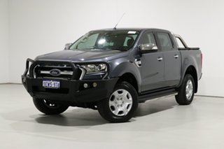 2015 Ford Ranger PX MkII XLT 3.2 (4x4) Grey 6 Speed Automatic Double Cab Pick Up.