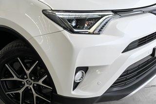 2018 Toyota RAV4 ASA44R GXL AWD Crystal Pearl 6 Speed Sports Automatic Wagon.