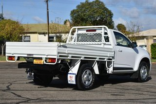 2013 Holden Colorado RG MY14 LX 4x2 White 6 Speed Manual Cab Chassis