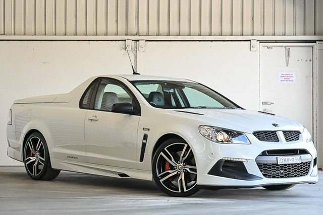 Used Holden Special Vehicles Maloo Gen-F2 MY17 R8 LSA Laverton North, 2017 Holden Special Vehicles Maloo Gen-F2 MY17 R8 LSA White 6 Speed Sports Automatic Utility