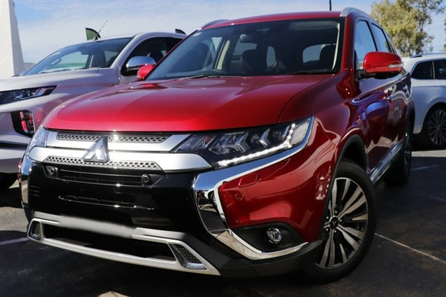New Mitsubishi Outlander ZL MY21 Exceed AWD Essendon North, 2021 Mitsubishi Outlander ZL MY21 Exceed AWD Black 6 Speed Sports Automatic Wagon