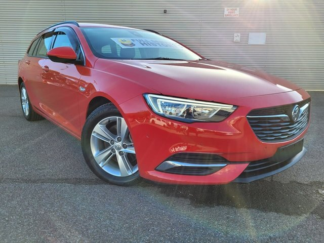 Used Holden Commodore ZB MY18 LT Sportwagon Elizabeth, 2017 Holden Commodore ZB MY18 LT Sportwagon Red 9 Speed Sports Automatic Wagon