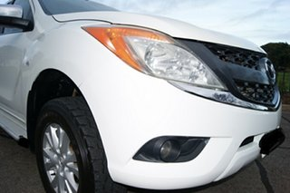 2013 Mazda BT-50 MY13 XTR (4x4) White 6 Speed Manual Dual Cab Utility.