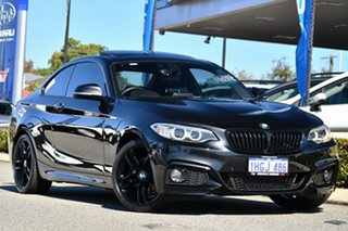 2015 BMW 2 Series F22 228i M Sport Black 8 Speed Sports Automatic Coupe.