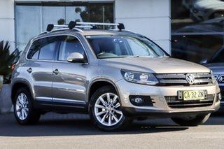 2012 Volkswagen Tiguan 5N MY12.5 155TSI DSG 4MOTION Beige 7 Speed Sports Automatic Dual Clutch Wagon.