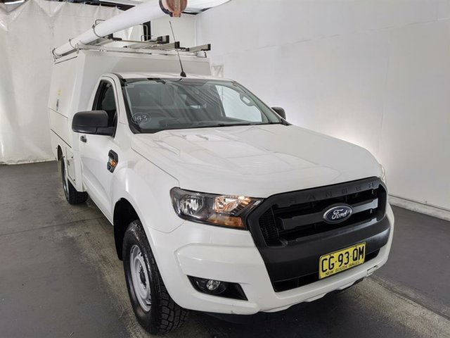 Used Ford Ranger PX MkII XL Maryville, 2016 Ford Ranger PX MkII XL White 6 Speed Sports Automatic Cab Chassis