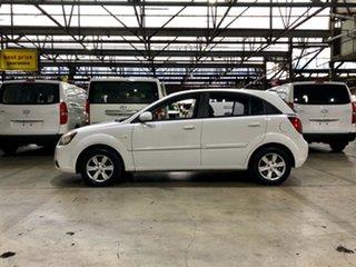 2011 Kia Rio JB MY11 S White 4 Speed Automatic Hatchback