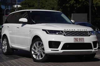 2018 Land Rover Range Rover Sport L494 19MY SDV8 HSE Dynamic Fuji White 8 Speed Sports Automatic.