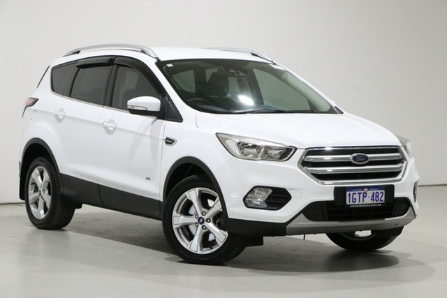 Used Ford Escape ZG MY19.25 Trend (AWD) Bentley, 2019 Ford Escape ZG MY19.25 Trend (AWD) White 6 Speed Automatic SUV