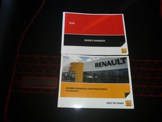 2014 Renault Clio IV B98 Expression EDC Red 6 Speed Sports Automatic Dual Clutch Hatchback.