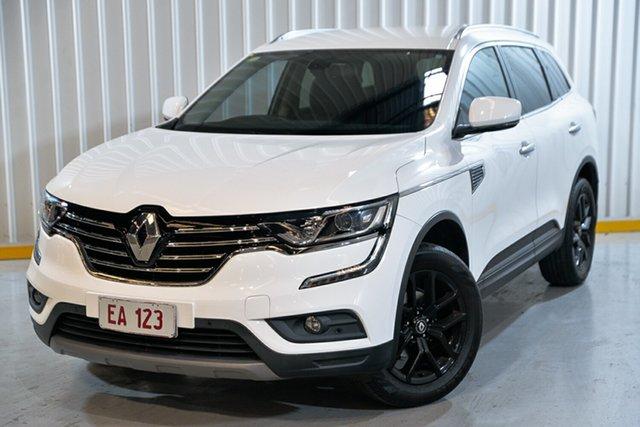 Used Renault Koleos HZG Zen X-tronic Hendra, 2017 Renault Koleos HZG Zen X-tronic White 1 Speed Constant Variable Wagon