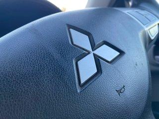 2010 Mitsubishi Triton MN MY10 GLX 4x2 White 5 Speed Manual Cab Chassis