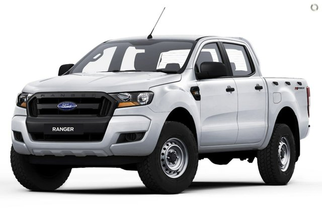 New Ford Ranger PX MkIII 2021.25MY XL Hi-Rider Oakleigh, 2021 Ford Ranger PX MkIII 2021.25MY XL Hi-Rider White 6 Speed Sports Automatic Double Cab Pick Up