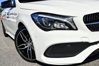 2016 Mercedes-Benz CLA-Class C117 807MY CLA200 DCT White 7 Speed Sports Automatic Dual Clutch Coupe.