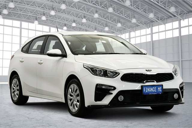 Used Kia Cerato BD MY20 S Victoria Park, 2020 Kia Cerato BD MY20 S Clear White 6 Speed Sports Automatic Hatchback