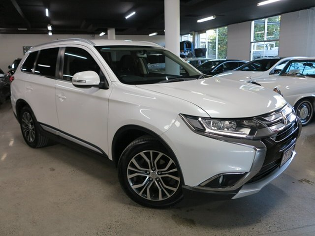 Used Mitsubishi Outlander ZK MY16 LS 2WD Albion, 2015 Mitsubishi Outlander ZK MY16 LS 2WD White 6 Speed Constant Variable Wagon