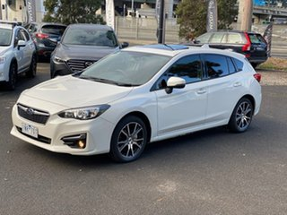 2017 Subaru Impreza G5 MY17 2.0i Premium CVT AWD Crystal White 7 Speed Constant Variable Hatchback
