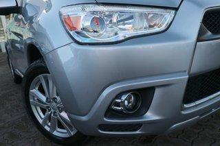2012 Mitsubishi ASX XB MY13 Aspire (4WD) Silver Continuous Variable Wagon.