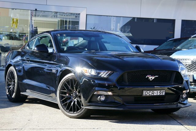 Used Ford Mustang FM GT Fastback Homebush, 2015 Ford Mustang FM GT Fastback Black 6 Speed Manual Fastback
