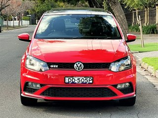 2015 Volkswagen Polo 6R MY15 GTI DSG Red 7 Speed Sports Automatic Dual Clutch Hatchback.