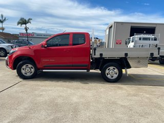 2017 Holden Colorado RG MY17 LS Space Cab Red 6 Speed Manual Cab Chassis