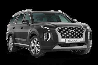 2020 Hyundai Palisade LX2.V1 MY21 Highlander AWD Steel Graphite 8 Speed Sports Automatic Wagon